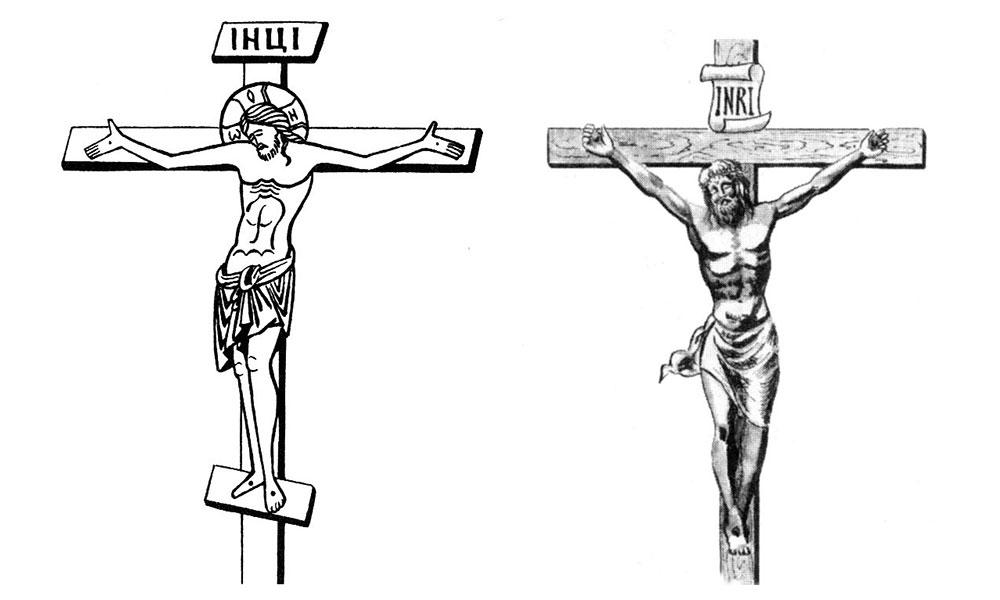В чем сходство и отличие православного и католического креста